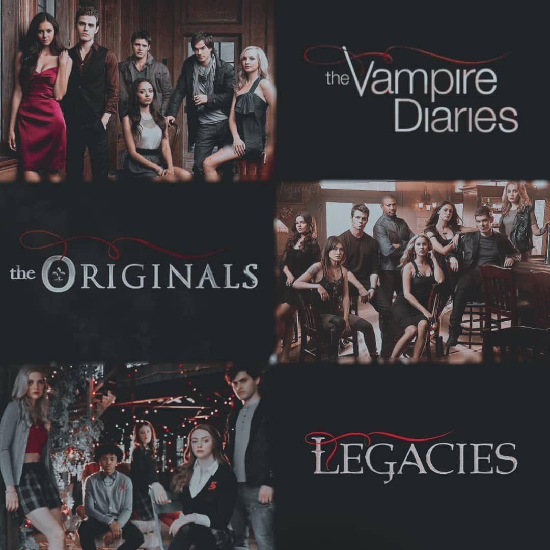 The Vampire Diaries, The Originals and  Legacies gdr