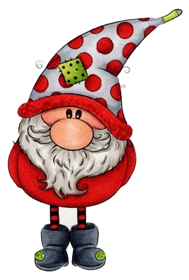 1255 02 Thomas Winter Gnome Christmas Drawing Christmas Paintings Christmas Crafts