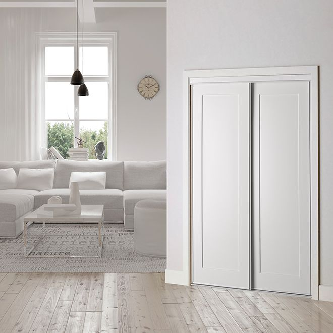 Lincoln Park Sliding Door 48 X 80 12 White Closet