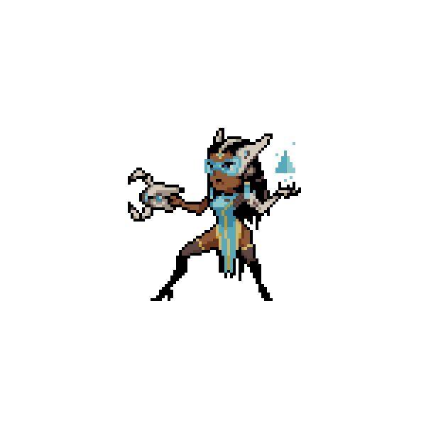 All Overwatch Pixel Sprays Transparent Png Format Pixel Art Overwatch Pixel