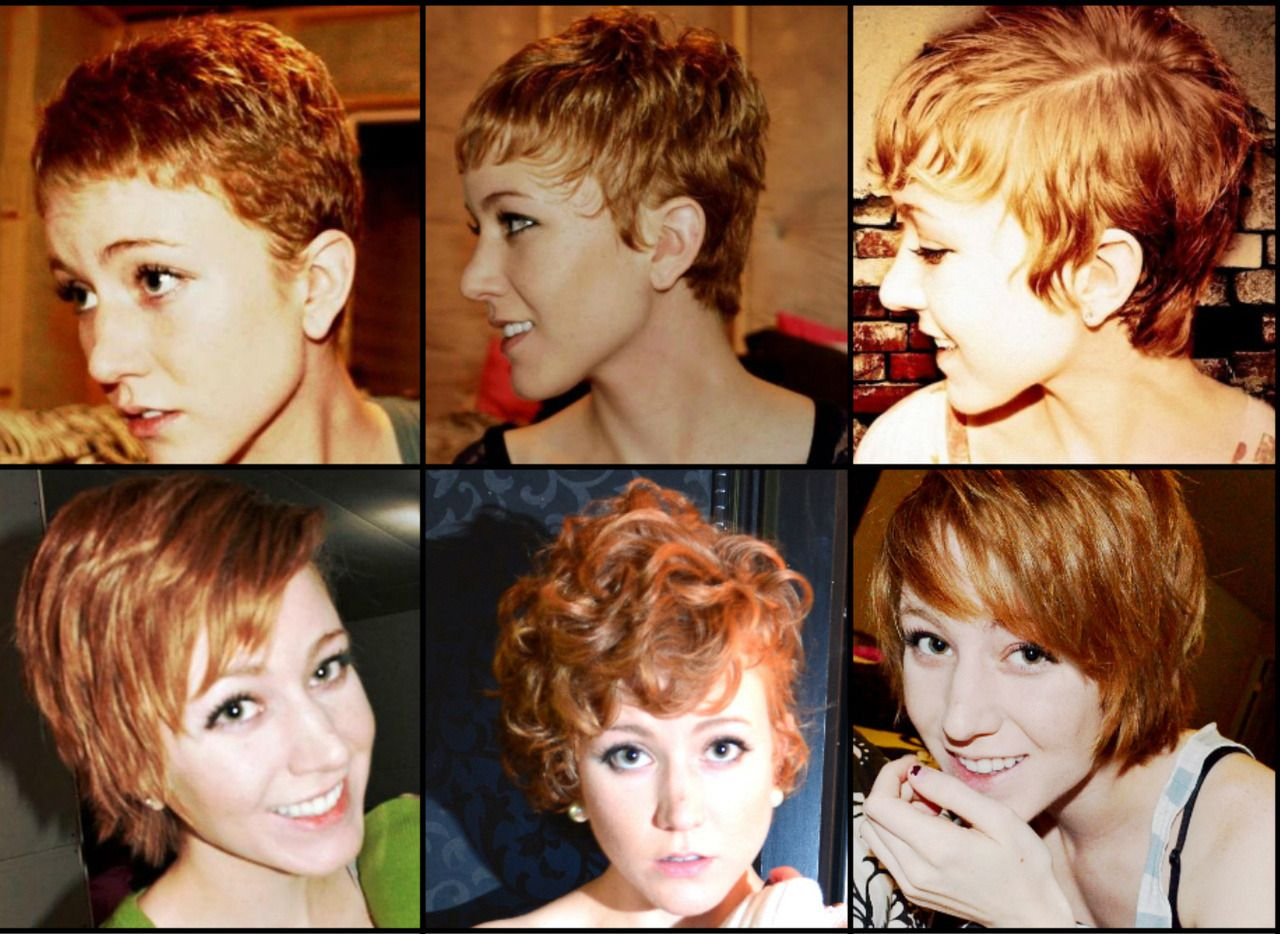 From Pixie To Pony Eventually 5 1 2 Months Of Growing It Out So Close To A Growing Out Short Hair Styles Growing Out Hair Growing Out A Pixie