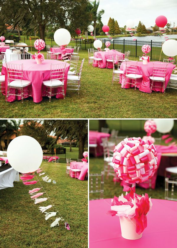 Floating to One Balloon Themed First Birthday Party Balloon