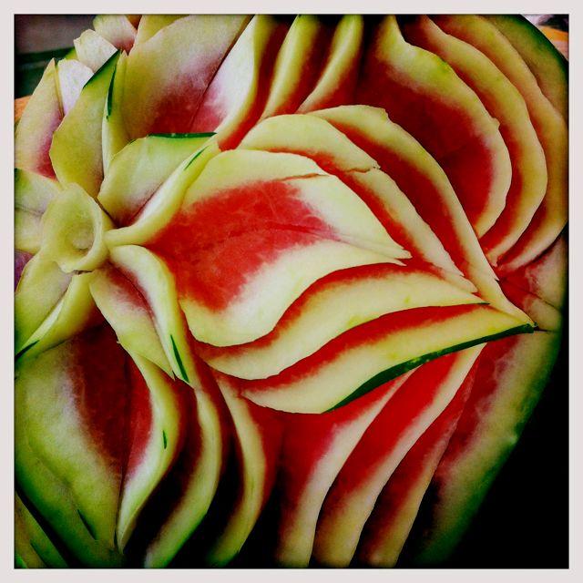 Fruit becomes art