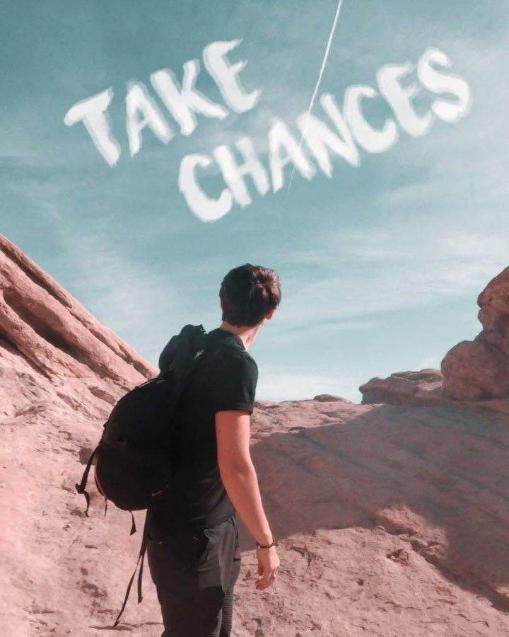 """Colby Brock On Instagram: """"TAKE CHANCES (: @tamm.blue"""