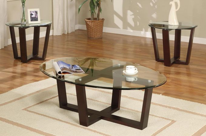 Unique Glass Coffee Tables In Square And Round Shapes Coffee Table Coffee And End Tables End Table Sets