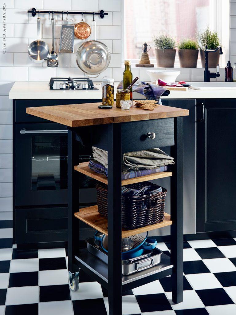 Svart såklart! | Livet Hemma – IKEA | Caly | Pinterest | Cocinas ...