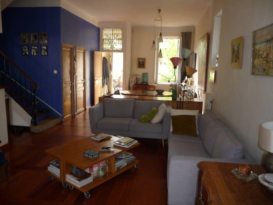 Ganhe uma noite no Chambre avec jardin près de Notre Dame de la Garde - Townhouses para Alugar em Marselha no Airbnb!