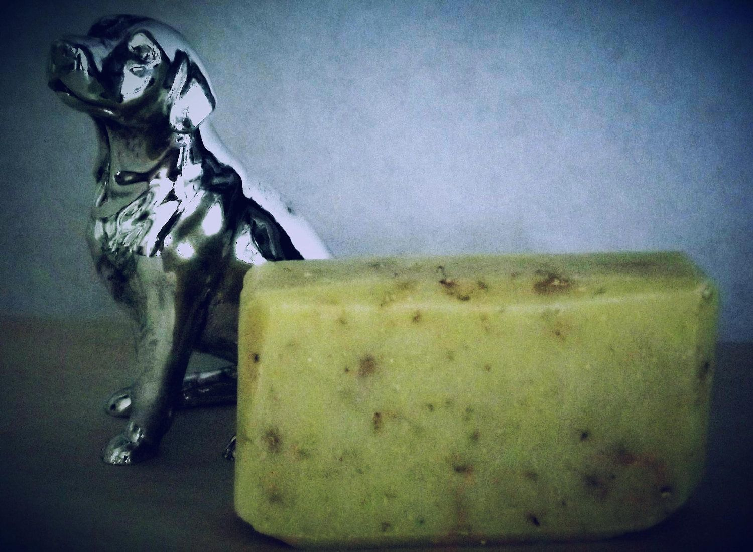 DOG soap cold process all natural vegan soap by LucySueSoap