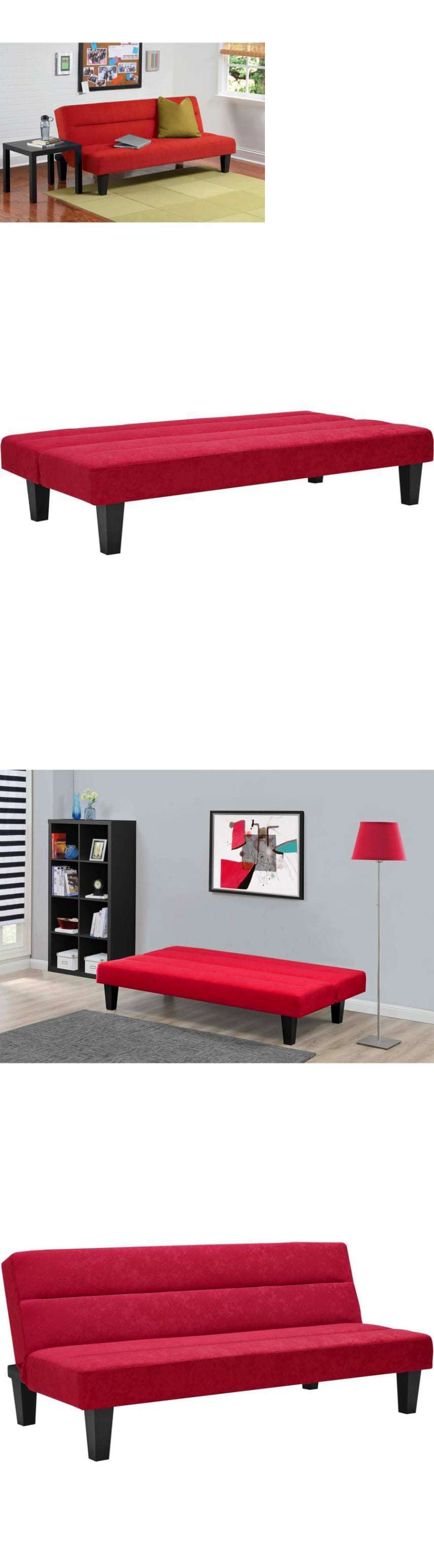 Futon sofa bed red - Futons Frames And Covers 131579 Kebo Futon Sofa Bed Red Dorm Bed