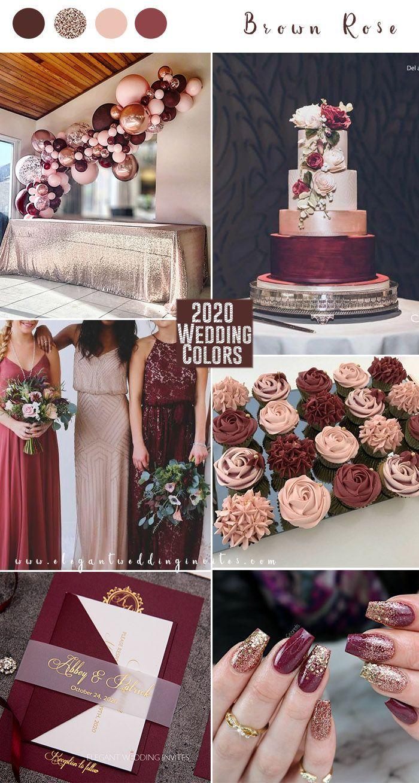 Top 10 Wedding Color Trends to Inspire in 2020 in 2020