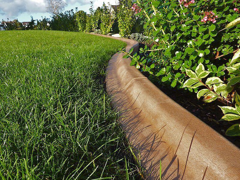 bordures de jardin pour gazon pelouse et massifs de fleurs | Idée ...
