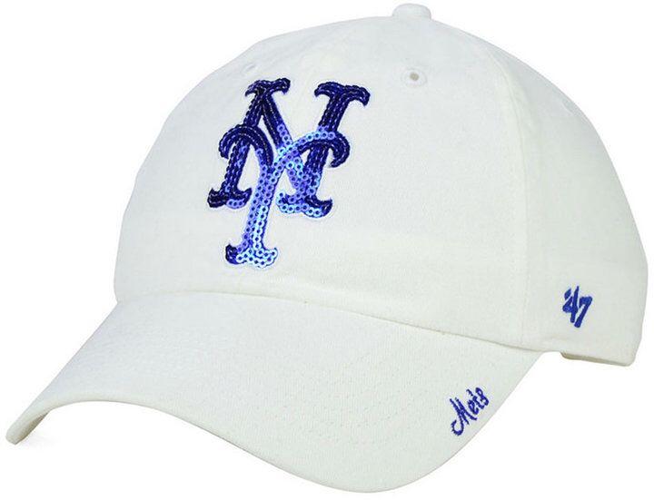 buy popular cf80a 97d64  47 Brand Women s New York Mets Adjustable Clean Up Cap.