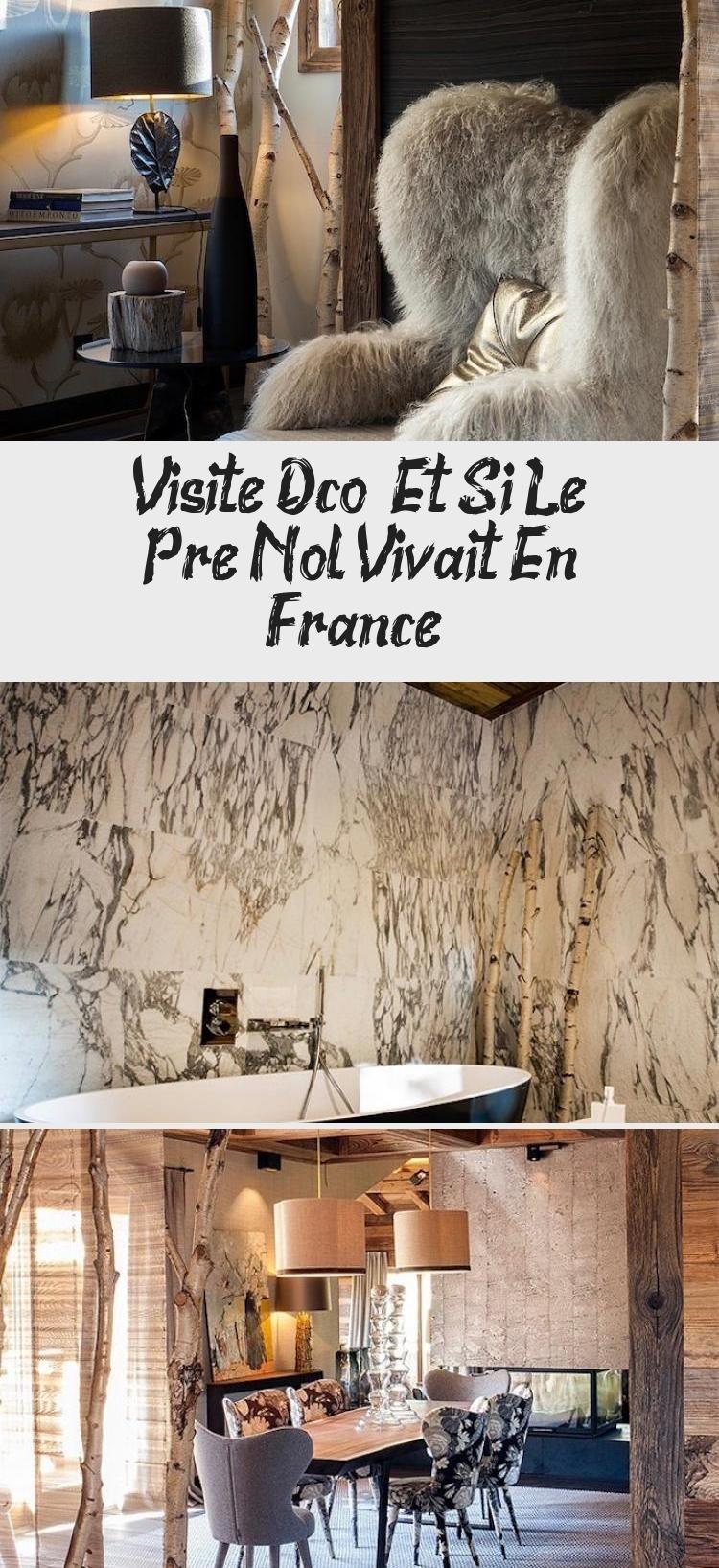 Arbre Bois Blanc Decoration visite déco : et si le père noël vivait en france | deco, france
