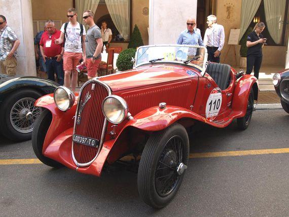 Fiat 508S Coppa d'Oro Balilla Sport 1935.