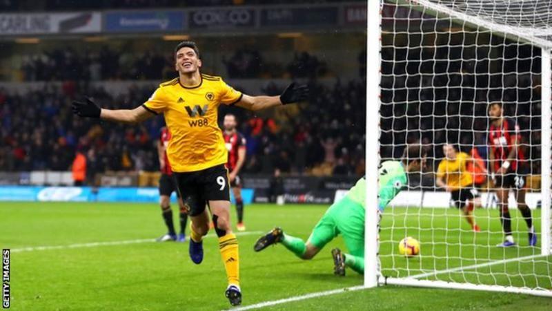 Premier League Wolves Beat Bournemouth 2 0 England Wolverhampton Premier League
