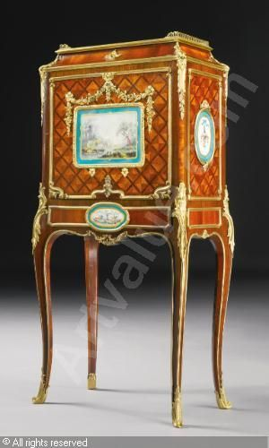 A FINE SECRÉTAIRE À ABATTANT sold by Sotheby's, New York, on Wednesday, October 24, 2012
