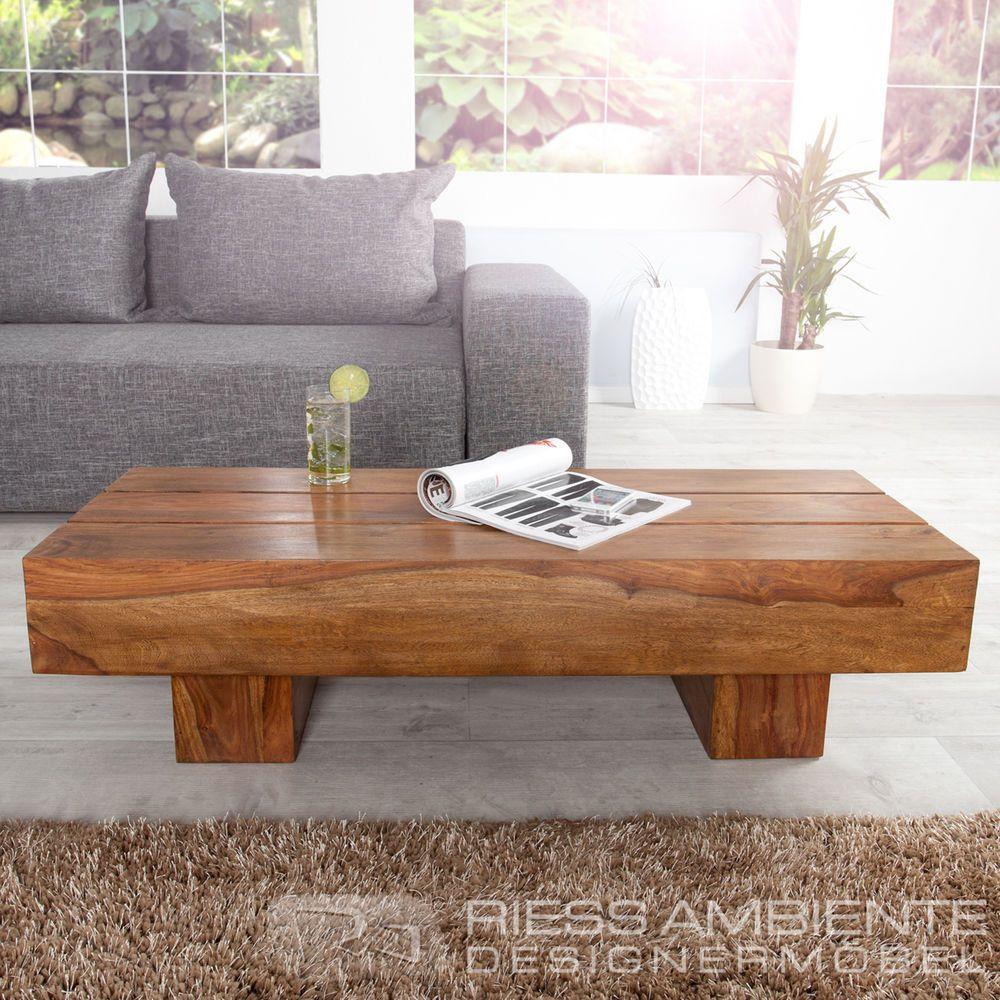 exklusiver massiver couchtisch makassar sheesham 120 cm edler massiv holz tisch furniture. Black Bedroom Furniture Sets. Home Design Ideas