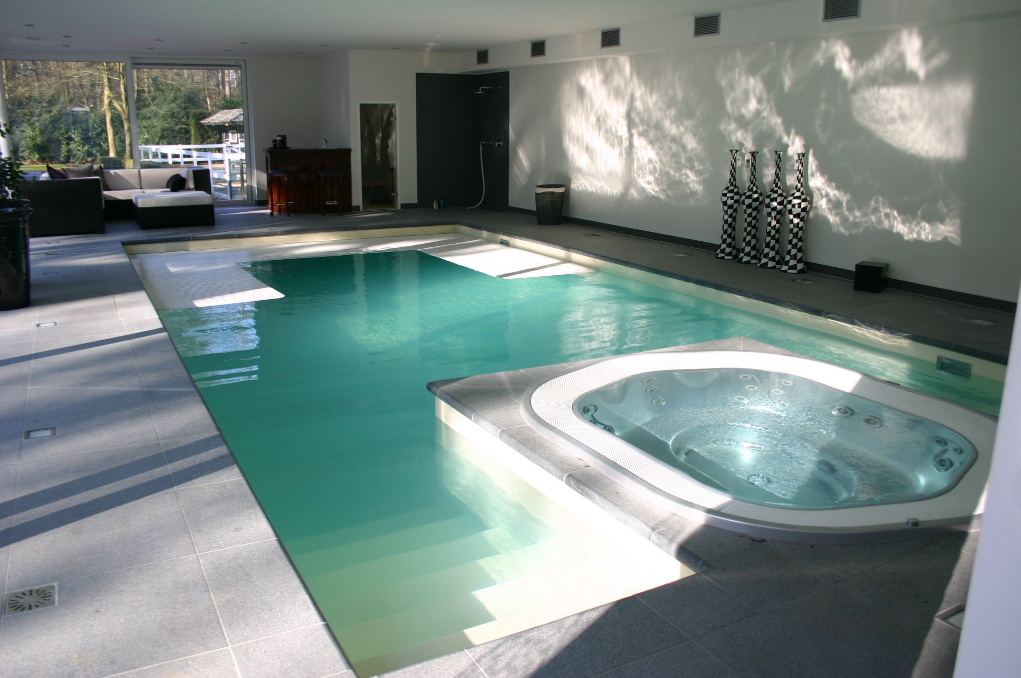 Indoor swimming pool by vsb wellness iginio wellness indoor