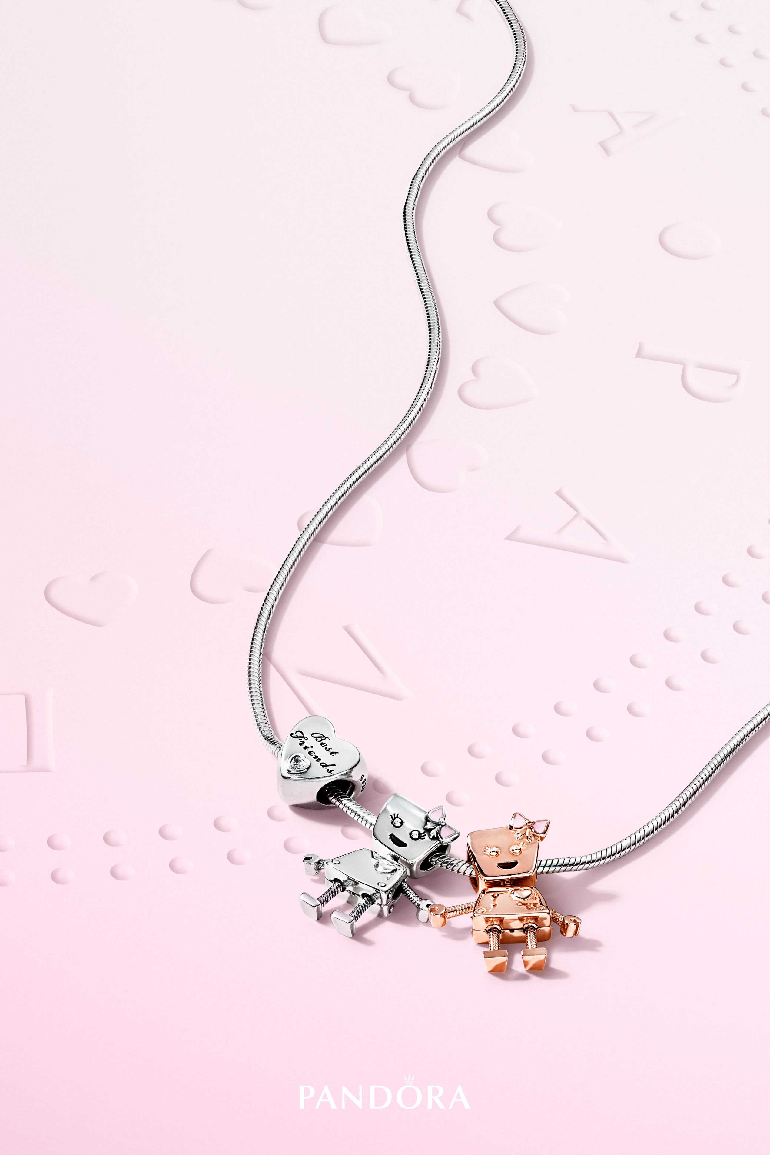0e682ce1a Celebrate yours with Bella Bot, our sweet and smart robot charm and one of  our PANDORA Friends. Who would you give it to as a gift?