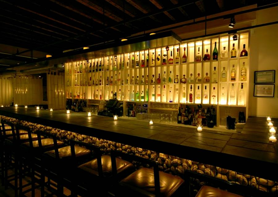 Contemporary Decor Bar Restaurant Interior Design Rayuela Lower East Side  NYC « Design Images, Photos