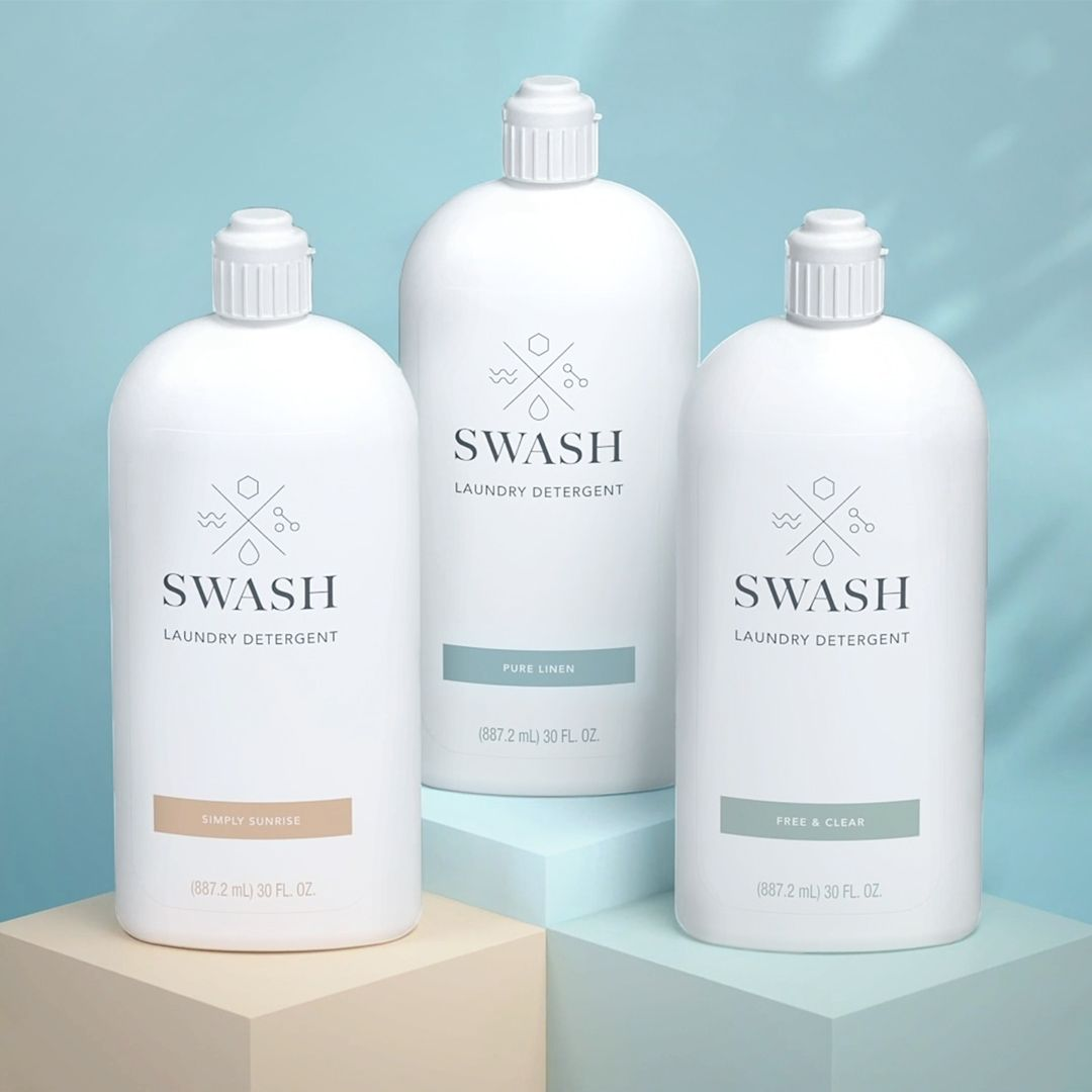 Introducing Swash™ Laundry Detergent with Precisio