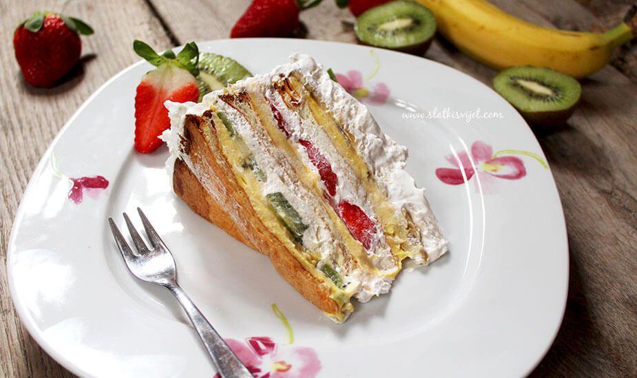Najslađa proljetna torta; Ledeni vjetar!