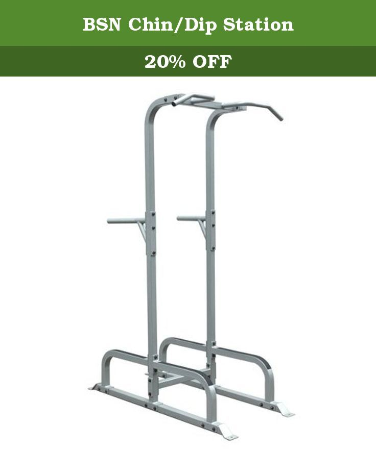 bsn chin dip station constructed of square heavy wall steel tubing
