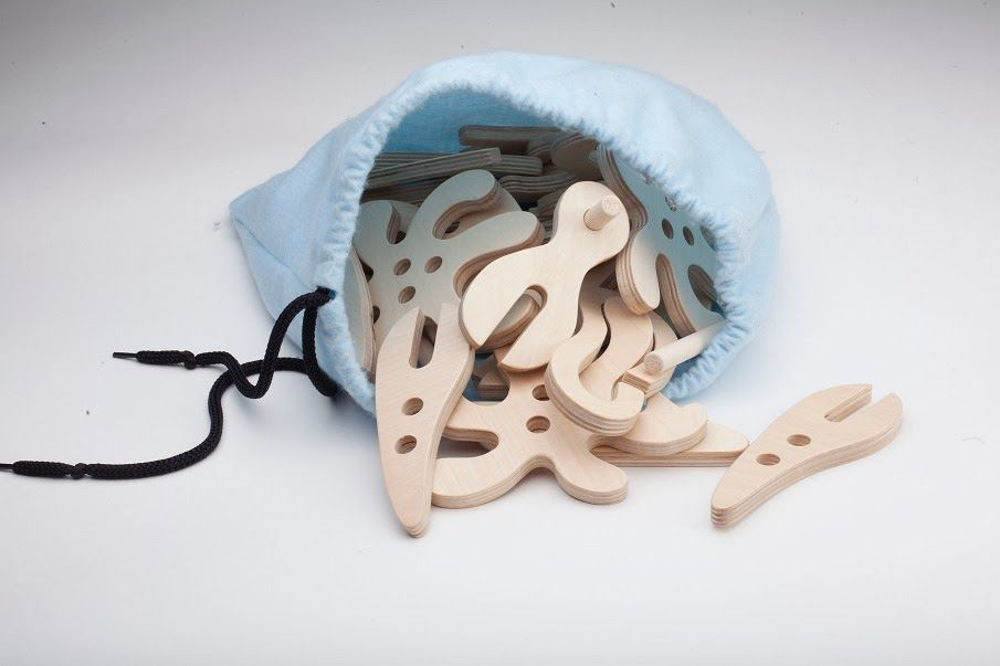 Sedia A Dondolo Per Bambini Mista : Creative links connectable shapes inspired by marine life by