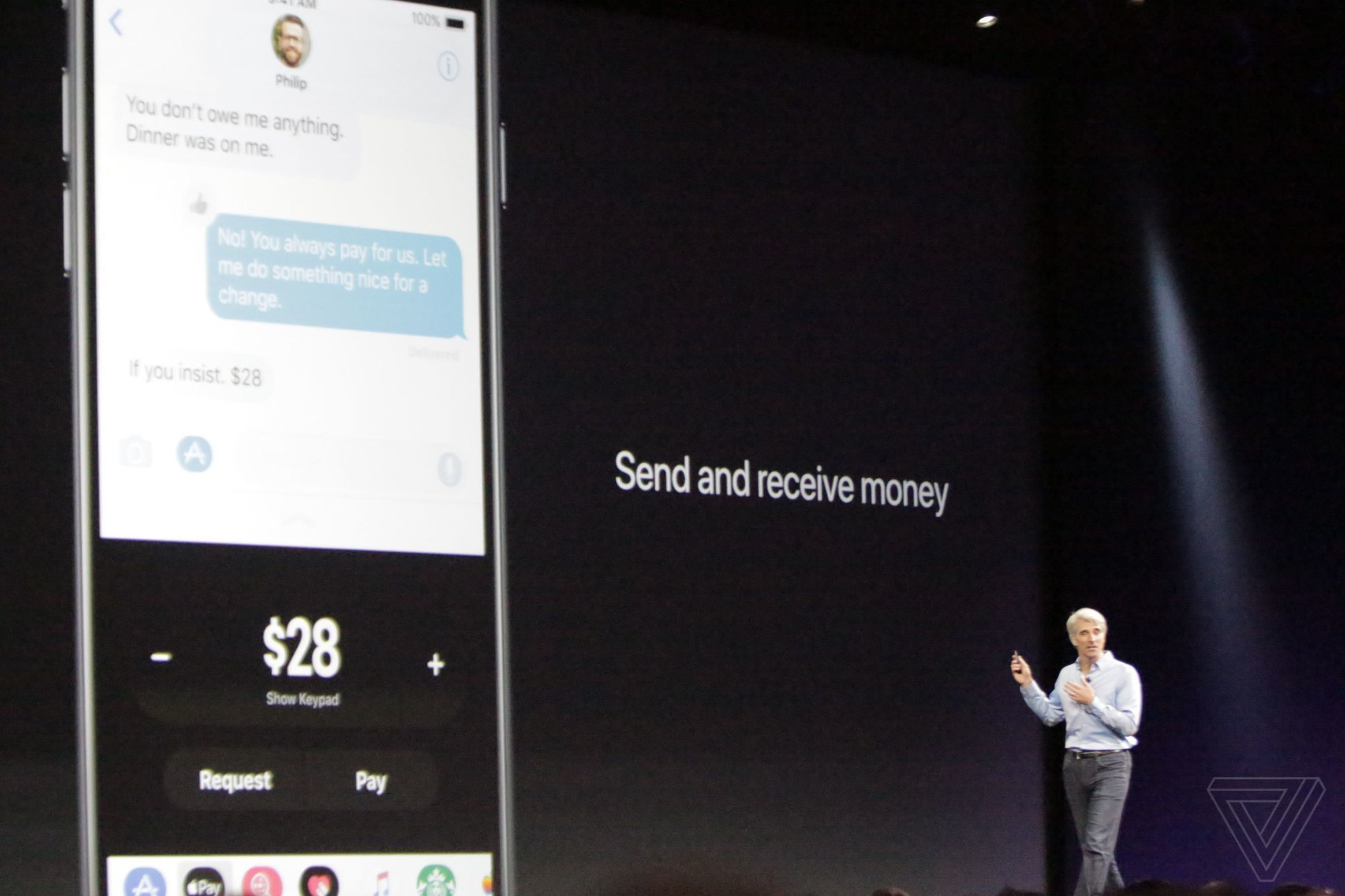 Ios 11 Lets You Send And Receive Money Via Imessage With Apple Pay Apple Pay Let It Be Android Pay