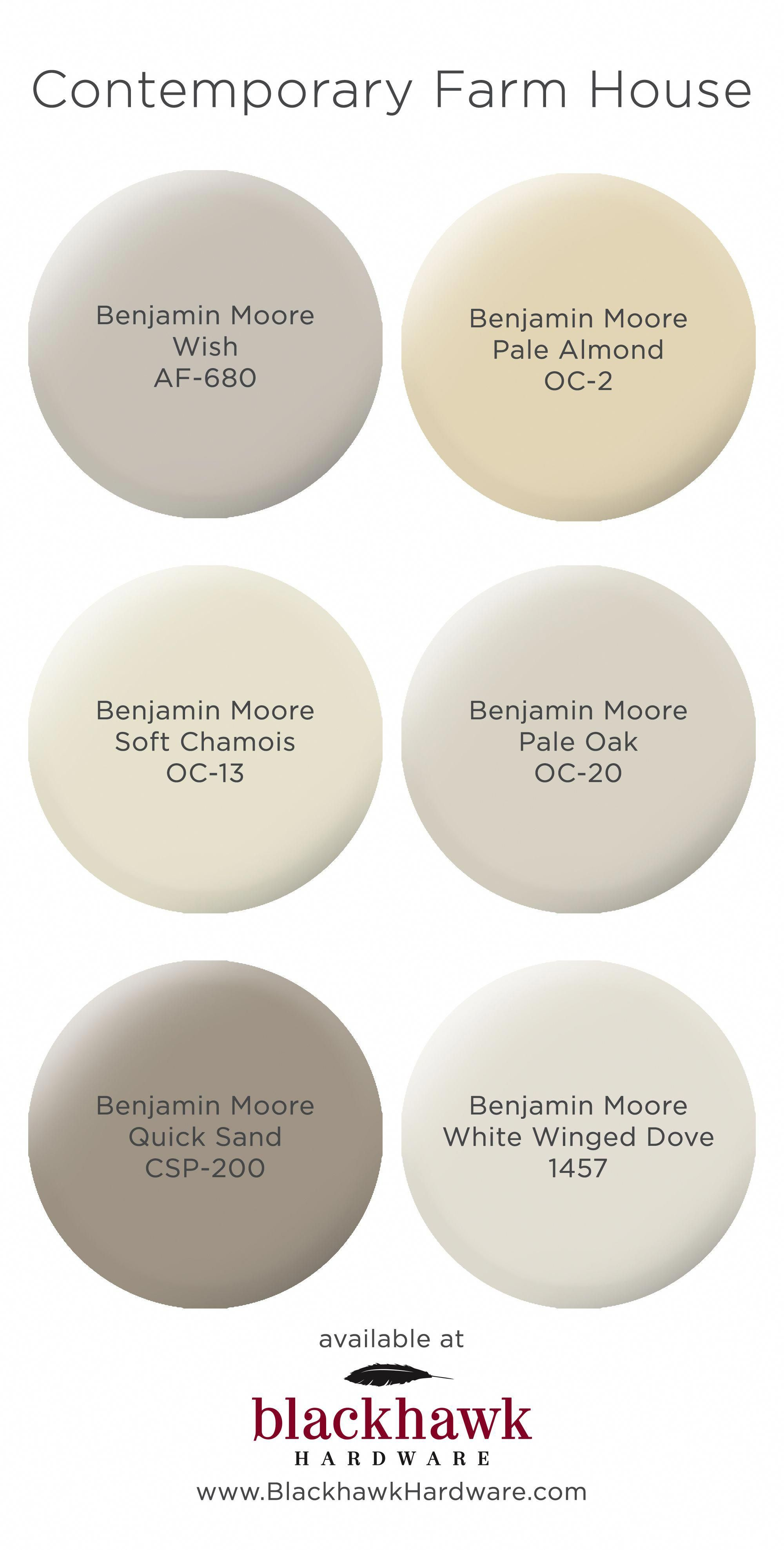 Contemporary Farm House Interior Paint Colors By Benjamin Moore Beautifullivingroomhomeinteriorde Farmhouse Paint Colors Farmhouse Paint Paint Colors For Home