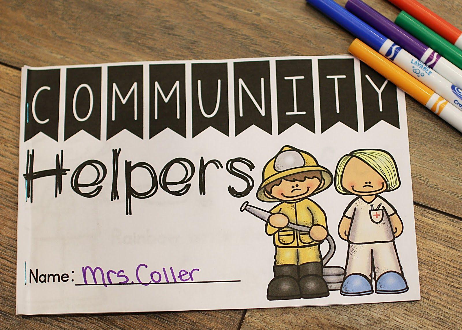 Community Helper Unit For Kindergarten Math Ela Amp More
