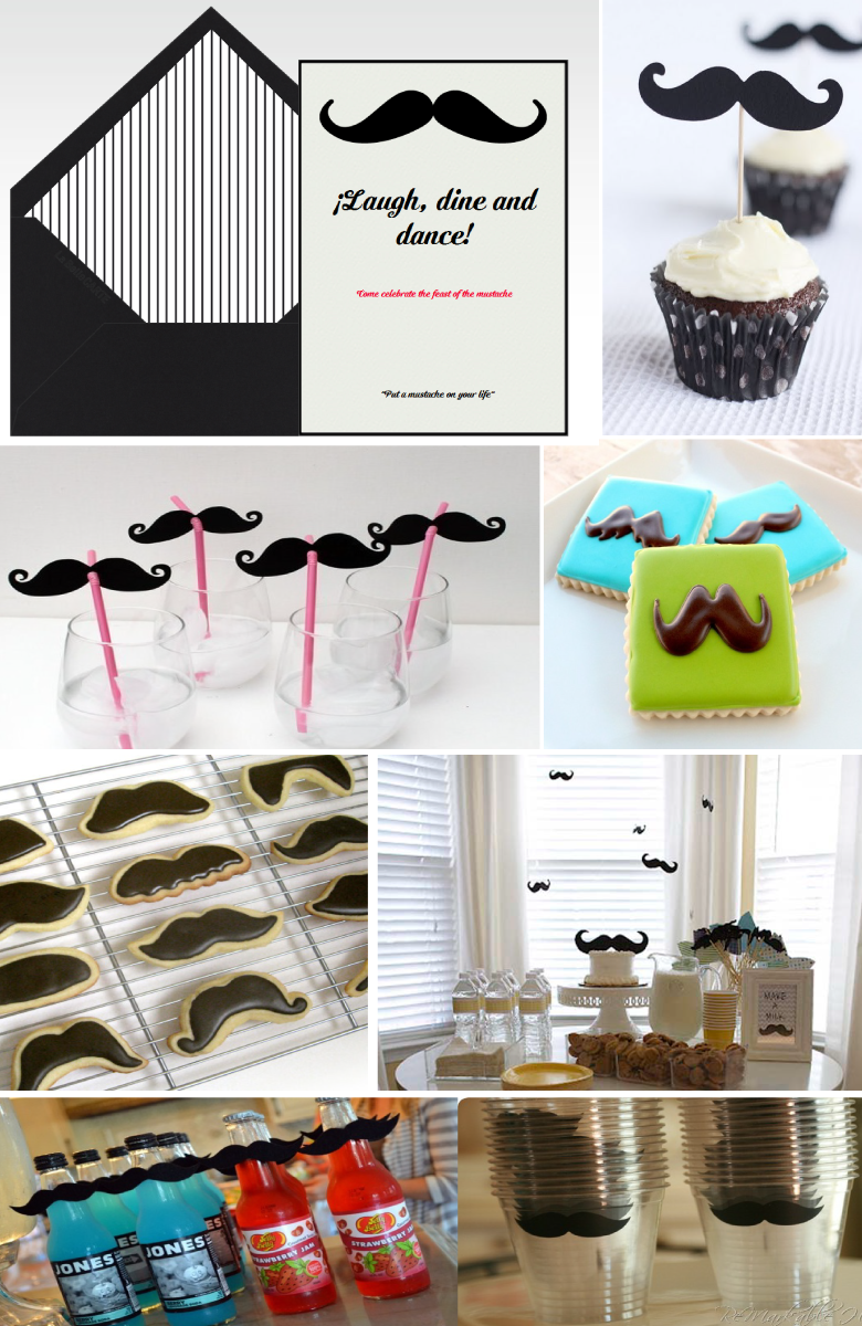 Mustache Party, Movember, Birthday Party, Invitations, Online ...