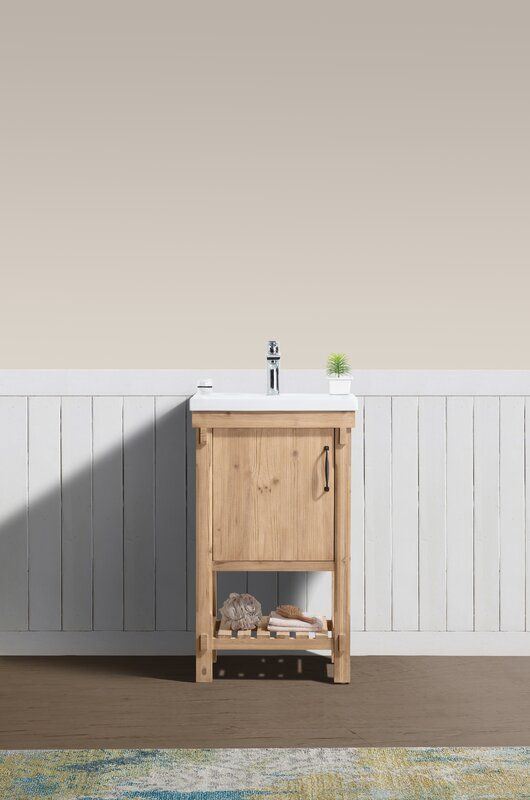 "Whitten 20"" Single Bathroom Vanity Set"