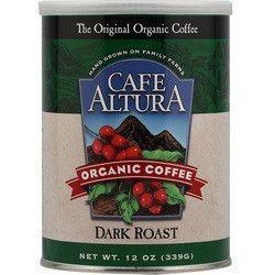Cafe Altura Organic Dark Coffee (6x12Oz)