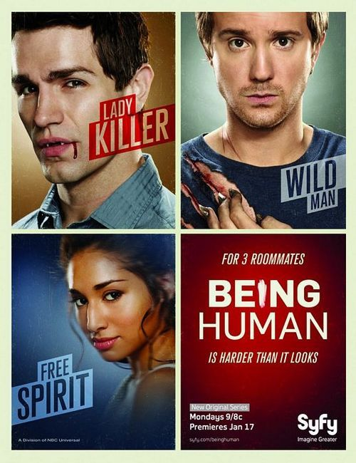 Being Human Us Tv Series Being Human Syfy Best Tv Shows