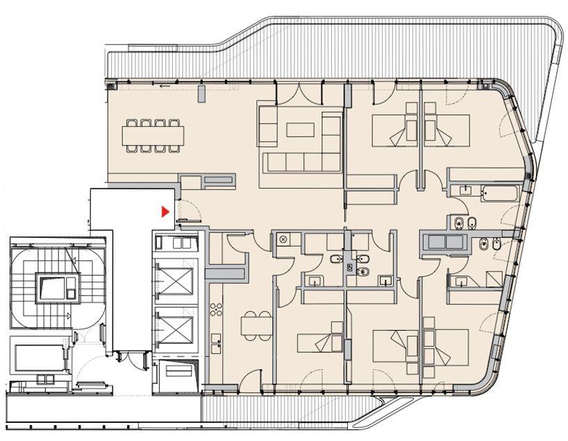 Zaha Hadid Citylife Milano Residential Complex Nearing Completion Zaha Hadid Architects Zaha Hadid Zaha