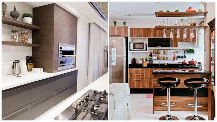 1001 + ideen für kleine Küchen zum Inspirieren   Kitchen remodel, Kitchen, Kitchen cabinets