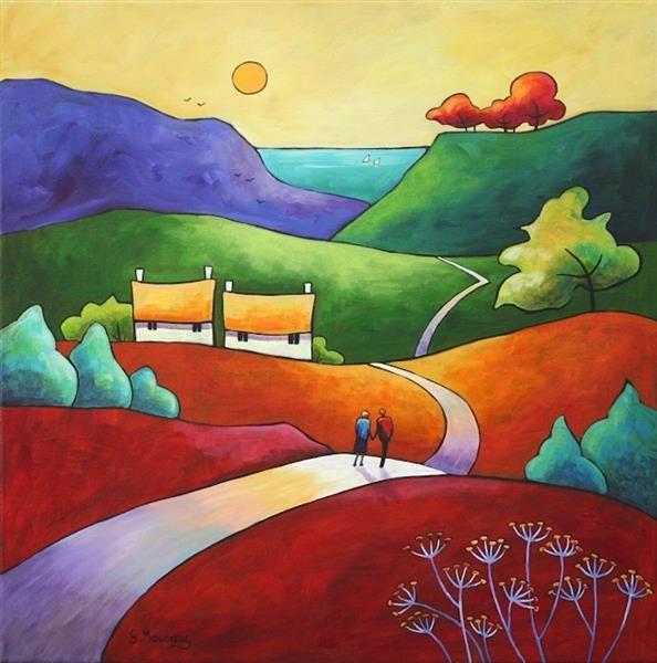 Charles Robinson - Our Sentimental Garden 1914 -