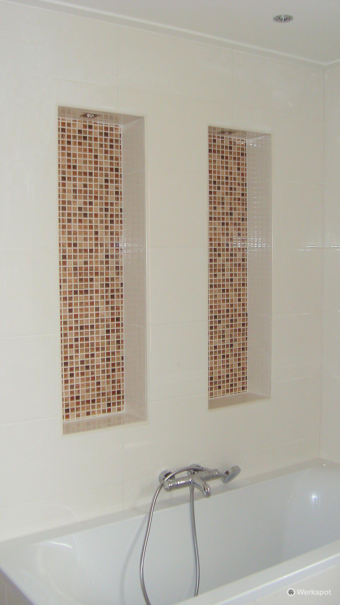 Afbeeldingsresultaat voor badkamer nis | Badkamer | Pinterest