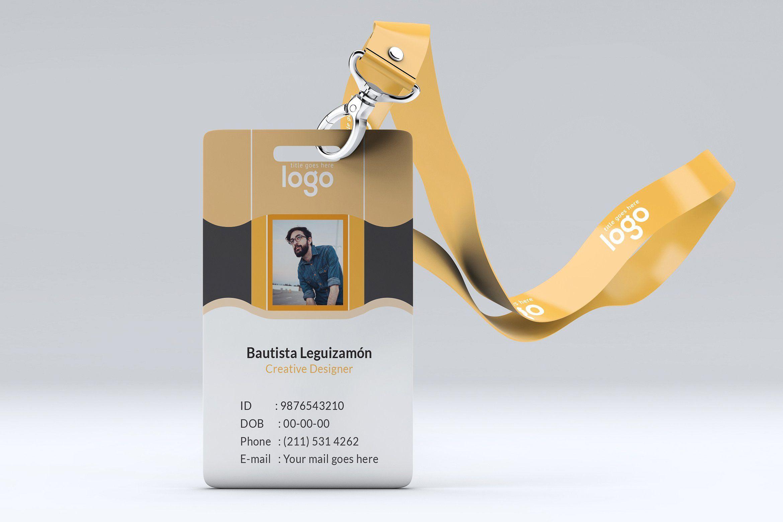 Id Card Identity Card Design Stationery Templates Employee Id Card