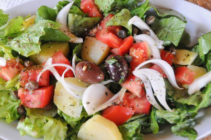 Che buona l'insalata pantesca! Prepariamola insieme