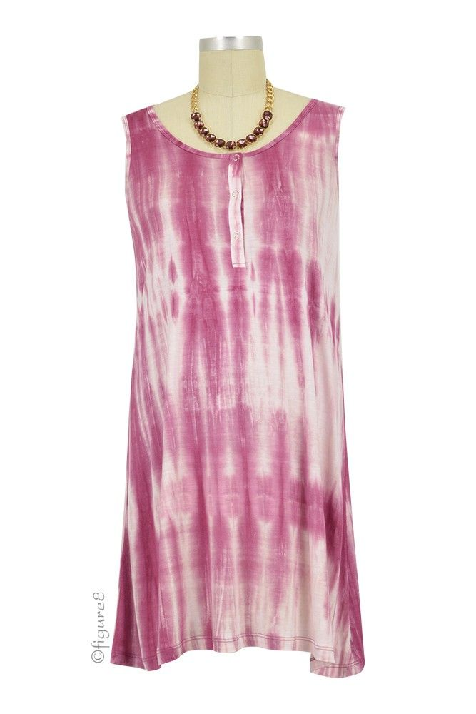 Addie Tie Dye A-Line Nursing Dress in Pink Tie Dye. We have 31 new arrival products this week. Please use coupon code NewProducts to receive 15% off these items. To receive the discount, please place your order by midnight Monday, February 22, 2016