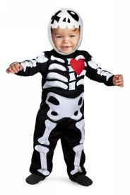 too frickin cute xo skeleton infant halloween costume 12 18 months 1797