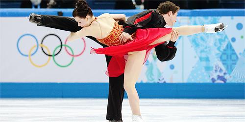 Dancing on Ice  -  Virtue & Moir  -   Sochi, Russia  -  2014 Olympics
