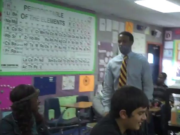 Clip of the Day: Teacher Raps His Way Through Chemistry Lessons