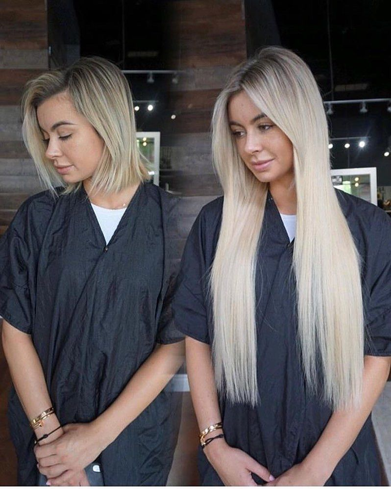 "KLIX HAIR EXTENSIONS on Instagram ""SLAYING IT BLONDE ⚡️"