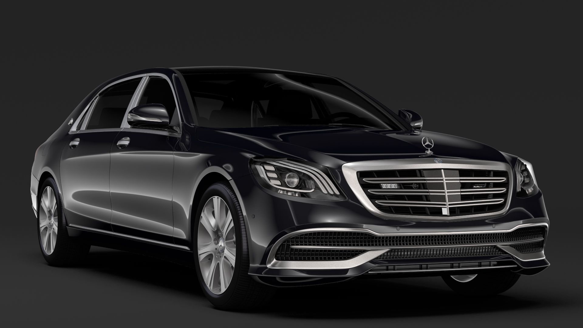 Mercedes Maybach S 650 Guard X222 2018 With Images Mercedes