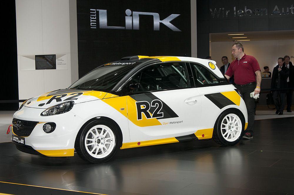 Opel Adam R2 Rallye Carwrap Rennsport Rennen Und Sport