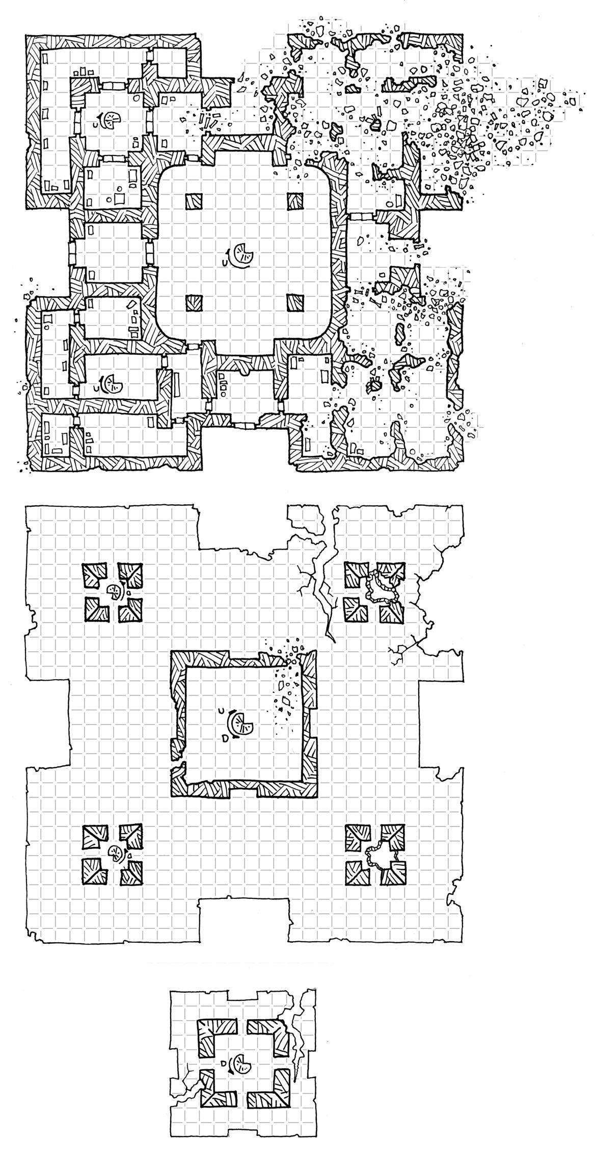 friday map  the ruined ha u2019tak temple