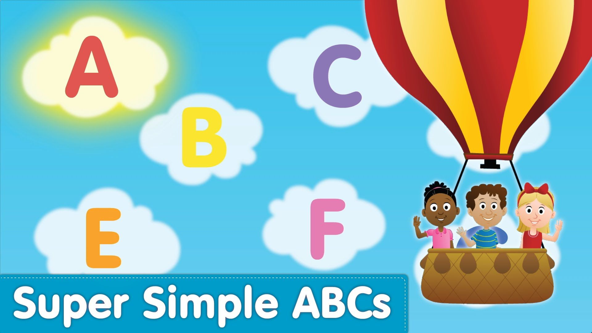 The Super Simple Alphabet Song Uppercase